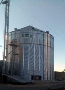 Расширение комплекса для сушки до зерносберегающего комплекса ФХ «Степь»