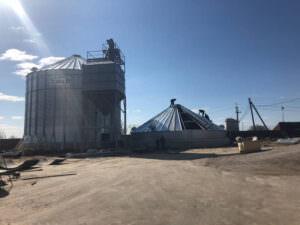ФХ «Щербич» приобрела комплекс для хранения зерновых культур.