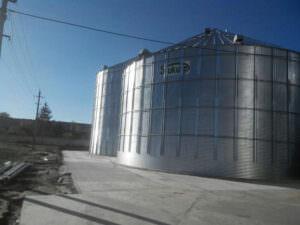 Расширение зерносберегающего комплекса ОАО «Колос»