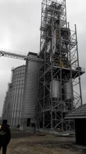 У ВАТ «Корсунь-Шевченківське ХПП» виконані роботи по розширенню  елеватора