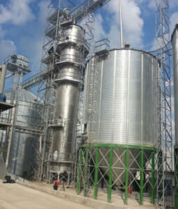 Расширение элеваторного комплекса ООО «Волынь-зерно-продукт»